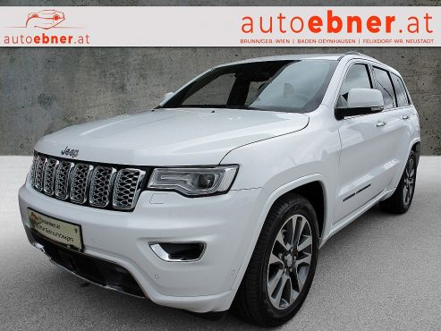 Jeep Grand Cherokee 3,0 V6 CRD Overland bei Autohaus ebner in