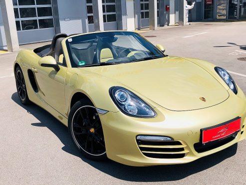 Porsche Boxster 981 2,7 Individual Top Preis bei Autohaus ebner in