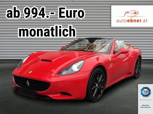 Ferrari California Aut. bei Autohaus ebner in