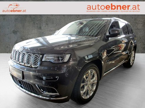 Jeep Grand Cherokee 3,0 V6 CRD Summit bei Autohaus ebner in