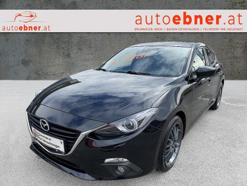 Mazda Mazda 3 Sport G120 Attraction bei Autohaus ebner in
