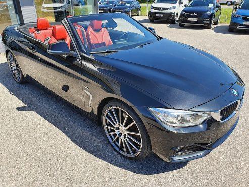 BMW 430d Cabrio Sport Line Aut. bei Autohaus ebner in