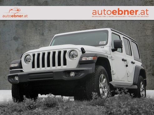 Jeep Wrangler Unlimited Freedom Edition 2,2 CRDI AT bei Autohaus ebner in