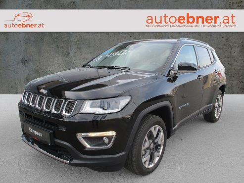 Jeep Compass 2,0 MultiJet AWD 9AT 140 Limited Aut. / TAGESZULASSUNG bei Autohaus ebner in