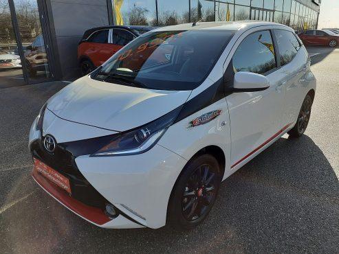 Toyota Aygo 1,2 VVT-i G-Tribute bei Autohaus ebner in