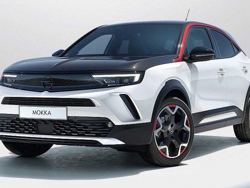 Opel Mokka-e Elektromotor Euro 6d – 3 Phasig 100 kW Elegance-e bei Autohaus Ebner in