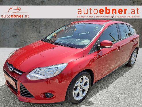Ford Focus Trend 1,6 TDCi DPF bei Autohaus Ebner in