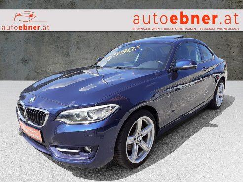 BMW 220d Coupé Sport Line Aut. bei Autohaus Ebner in