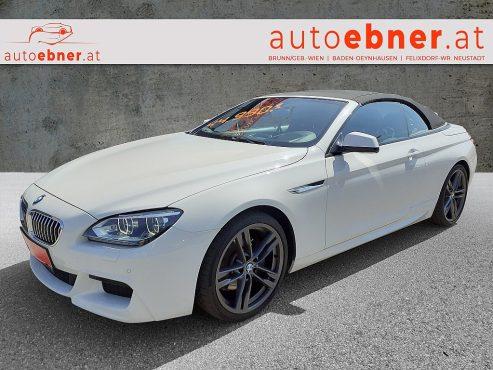 BMW 640d Cabrio Österreich-Paket Aut. bei Autohaus Ebner in