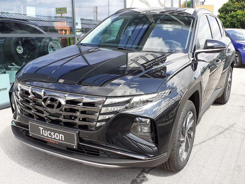 Hyundai Tucson 1,6 T-GDI 2WD 48V Trend Line DCT bei Autohaus Ebner in