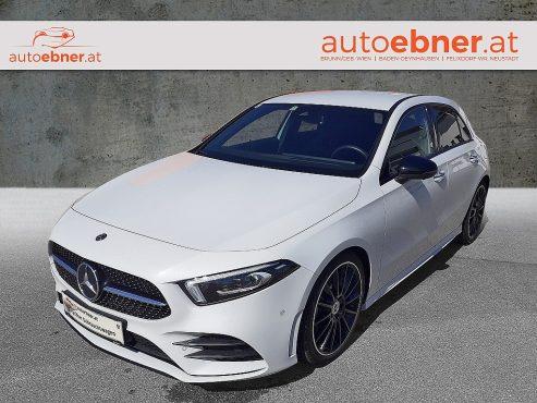 Mercedes-Benz A 200 d Aut. AMG Line Multi Beam Burmester bei Autohaus Ebner in