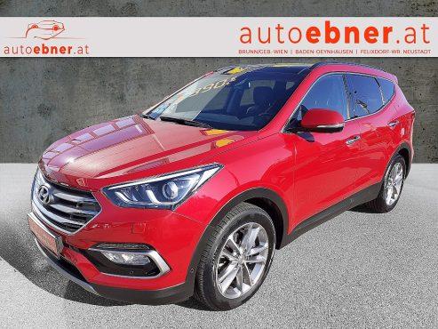 Hyundai Santa Fe 2,2 CRDi 4WD Start-Stopp Aut. Platin bei Autohaus Ebner in