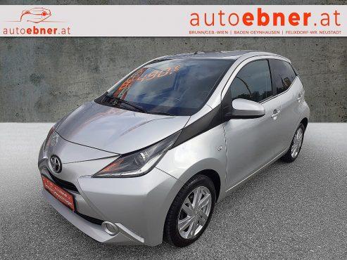 Toyota Aygo 1,0 VVT-i Edition45 bei Autohaus Ebner in